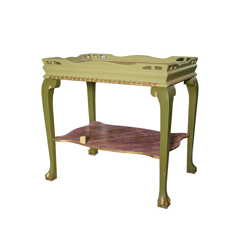 French Provincial Tea Table