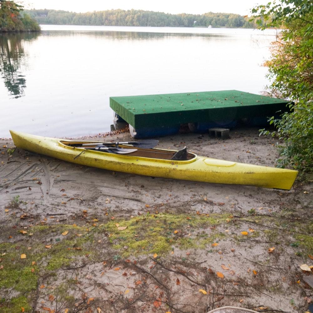Yellow Kayak 2-Seater