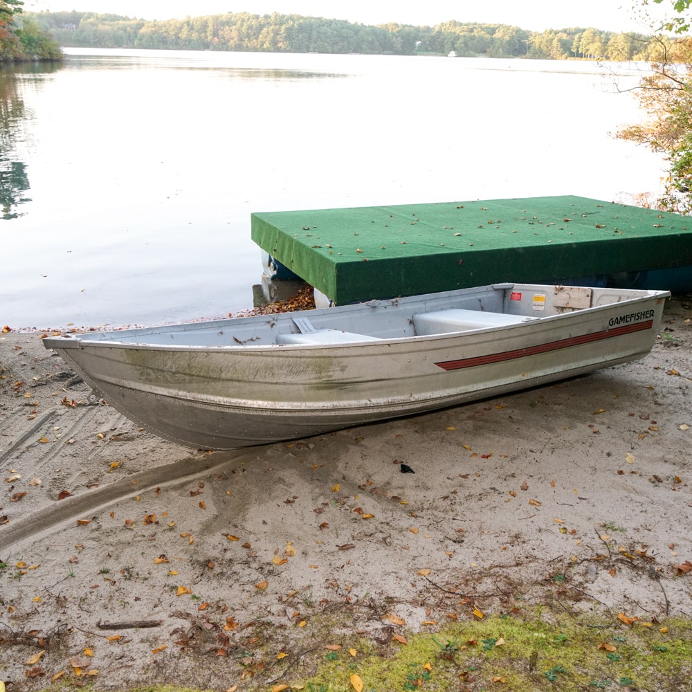 Gamefisher Aluminum Row Boat