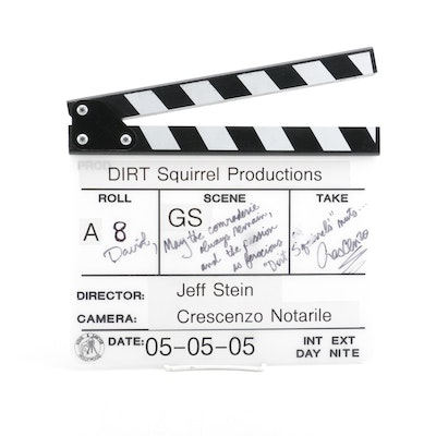 """Dirt Squirrel"" Production Stateboard Clapper"