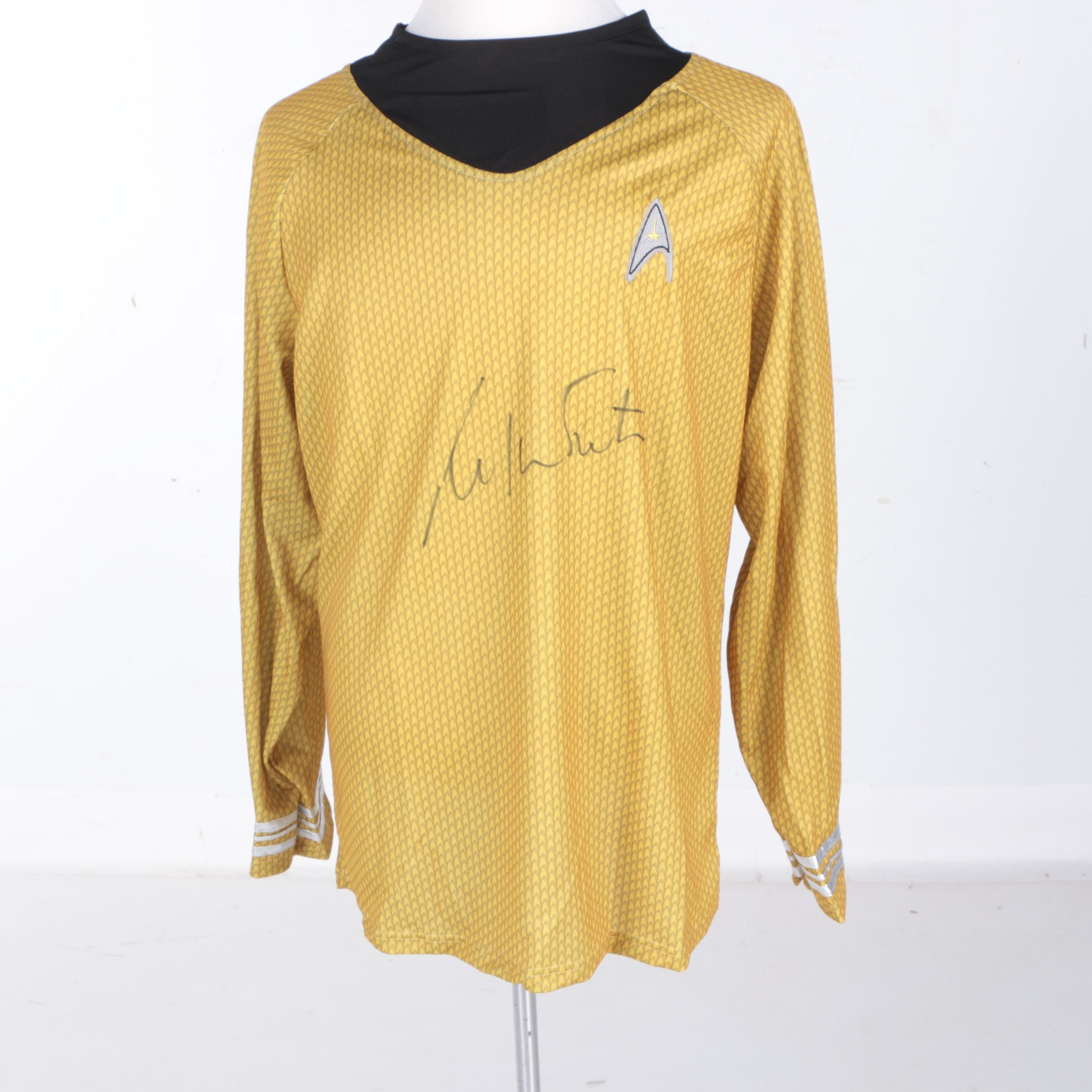 William Shatner Autographed Star Trek Costume - JSA COA