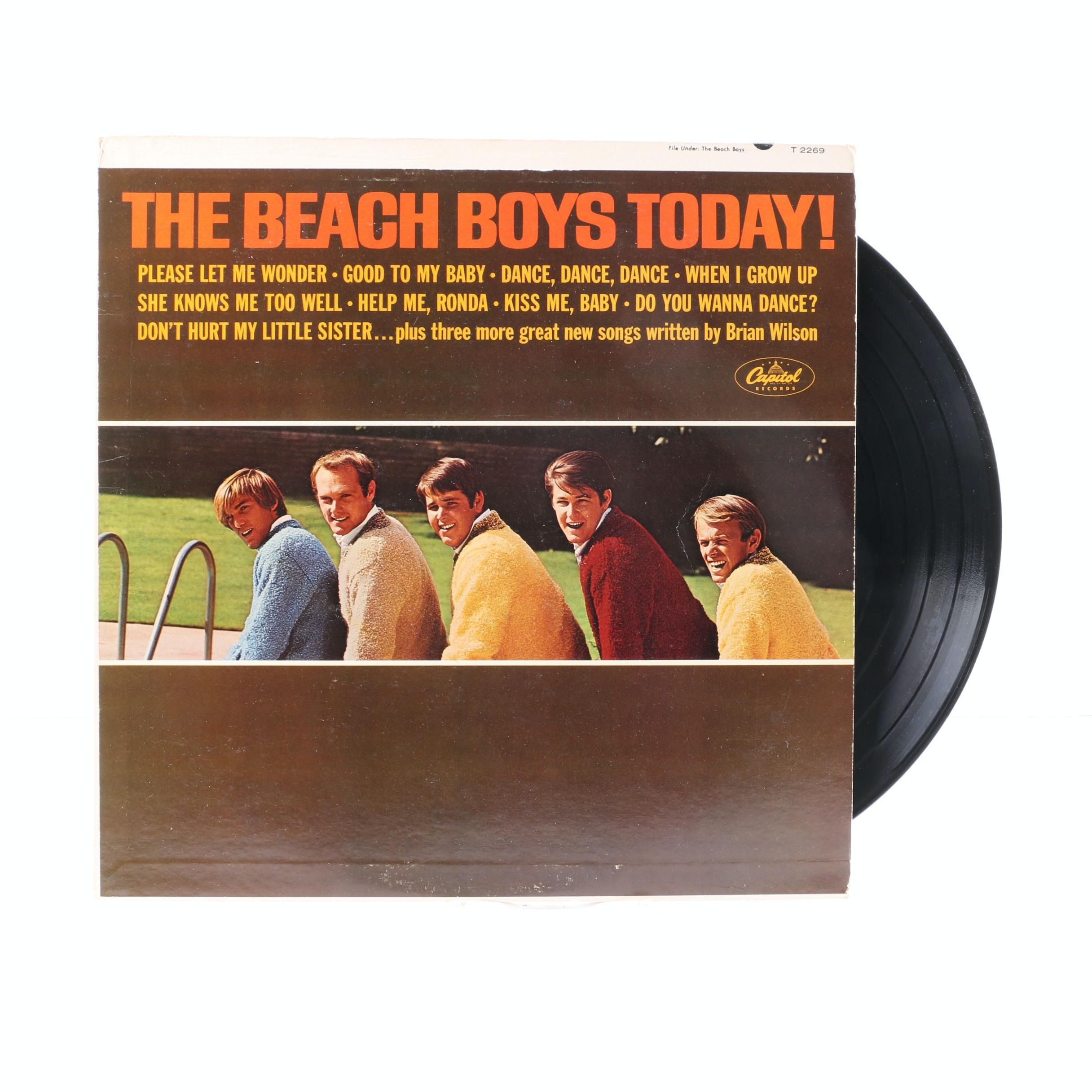 """The Beach Boys Today!"" Original US Mono LP with ""The Teen Set"" Magazine"