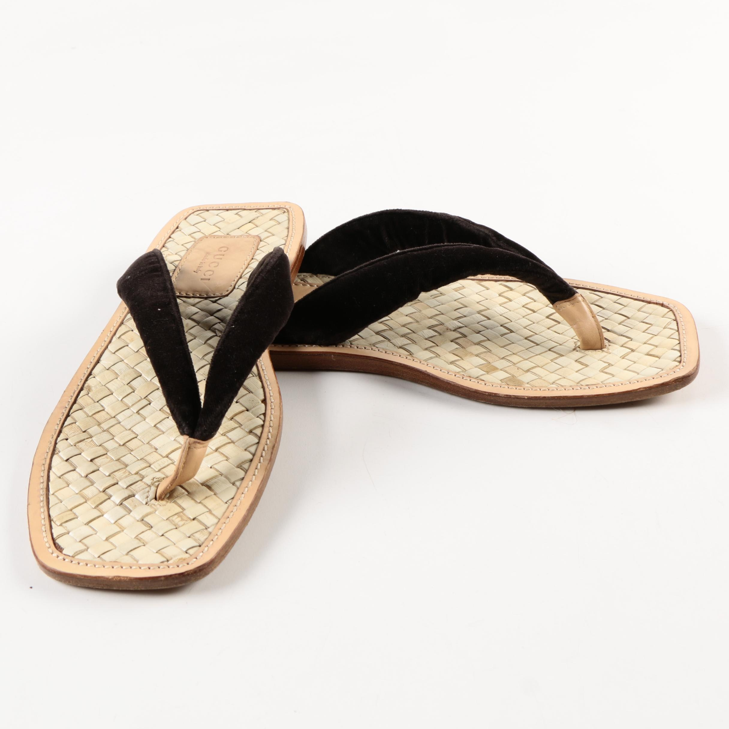 Women's Gucci Flip Flops