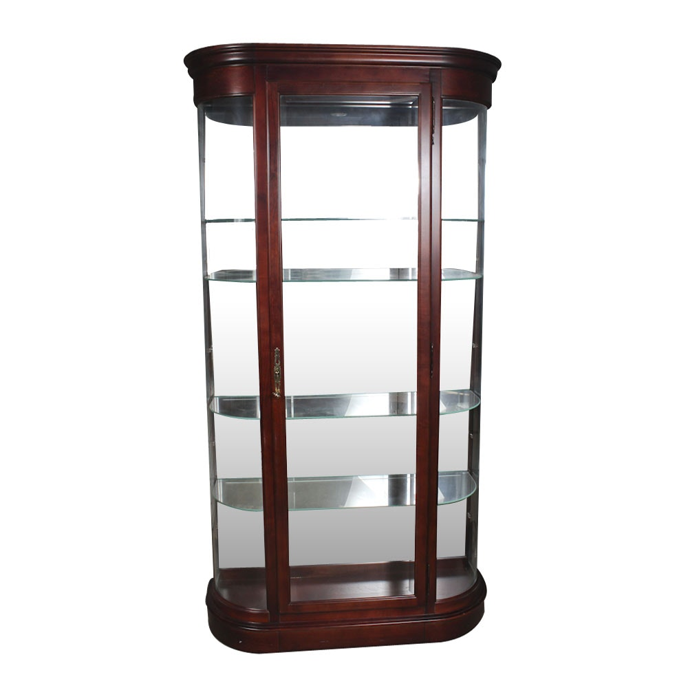 Illuminated Display Case by Howard Miller