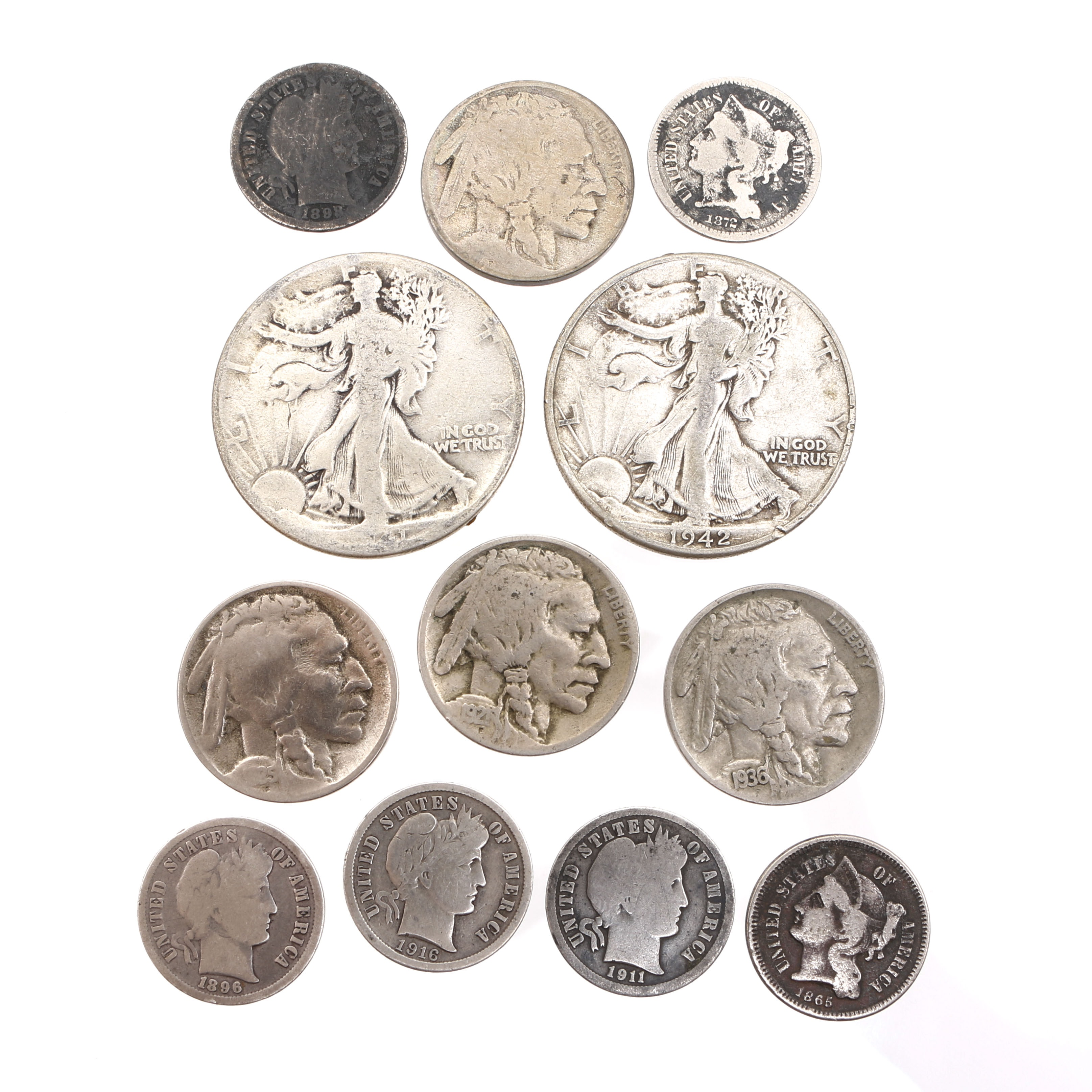 Antique and Vintage American Coin Collection