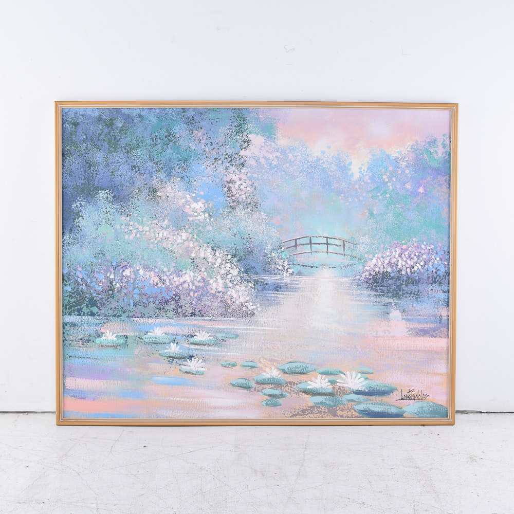Lee Reynolds Oil Painting on Canvas Landscape