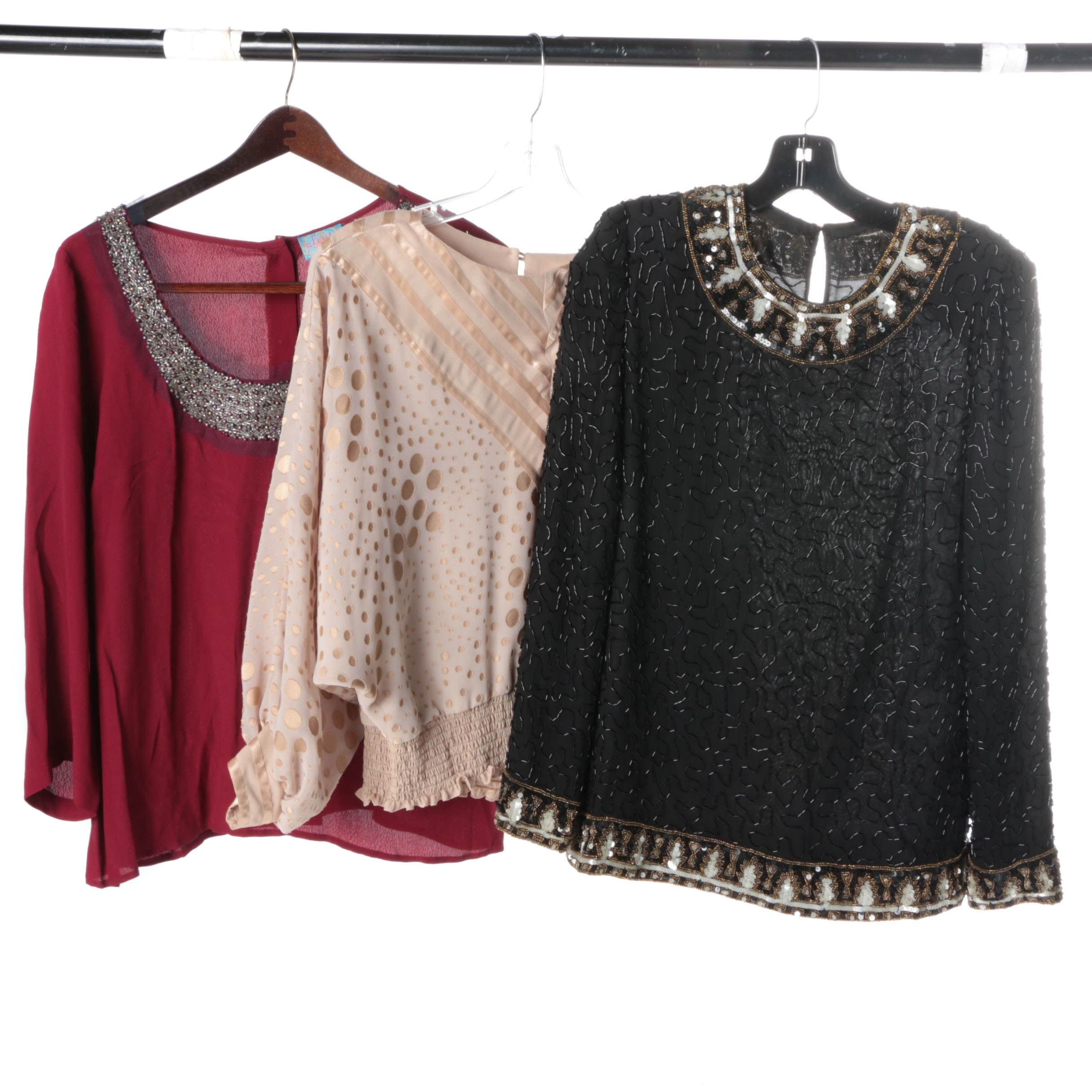 Women's Evening Tops Including Plenty by Tracy Reese