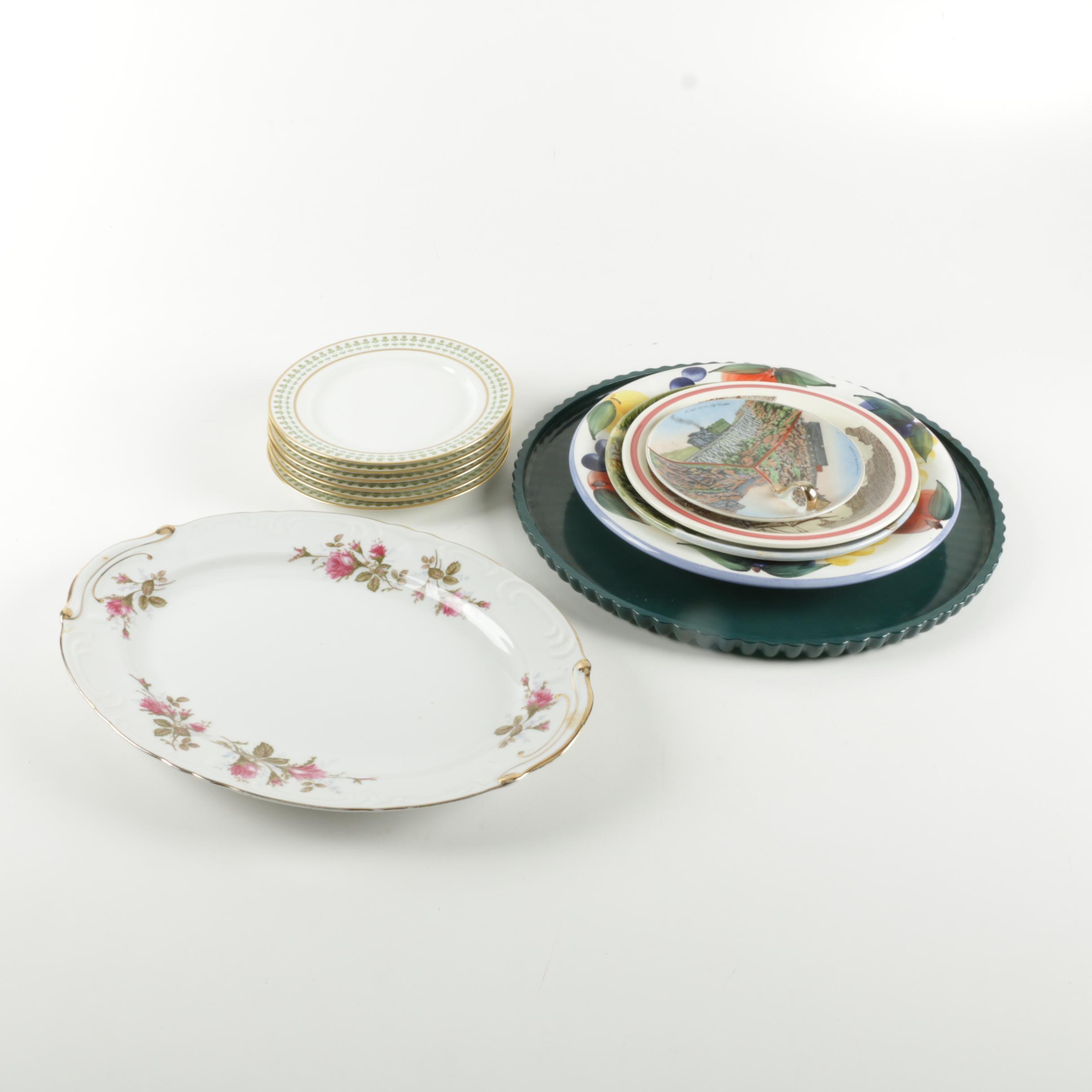 Tableware Featuring Dansk and Charles Field Haviland