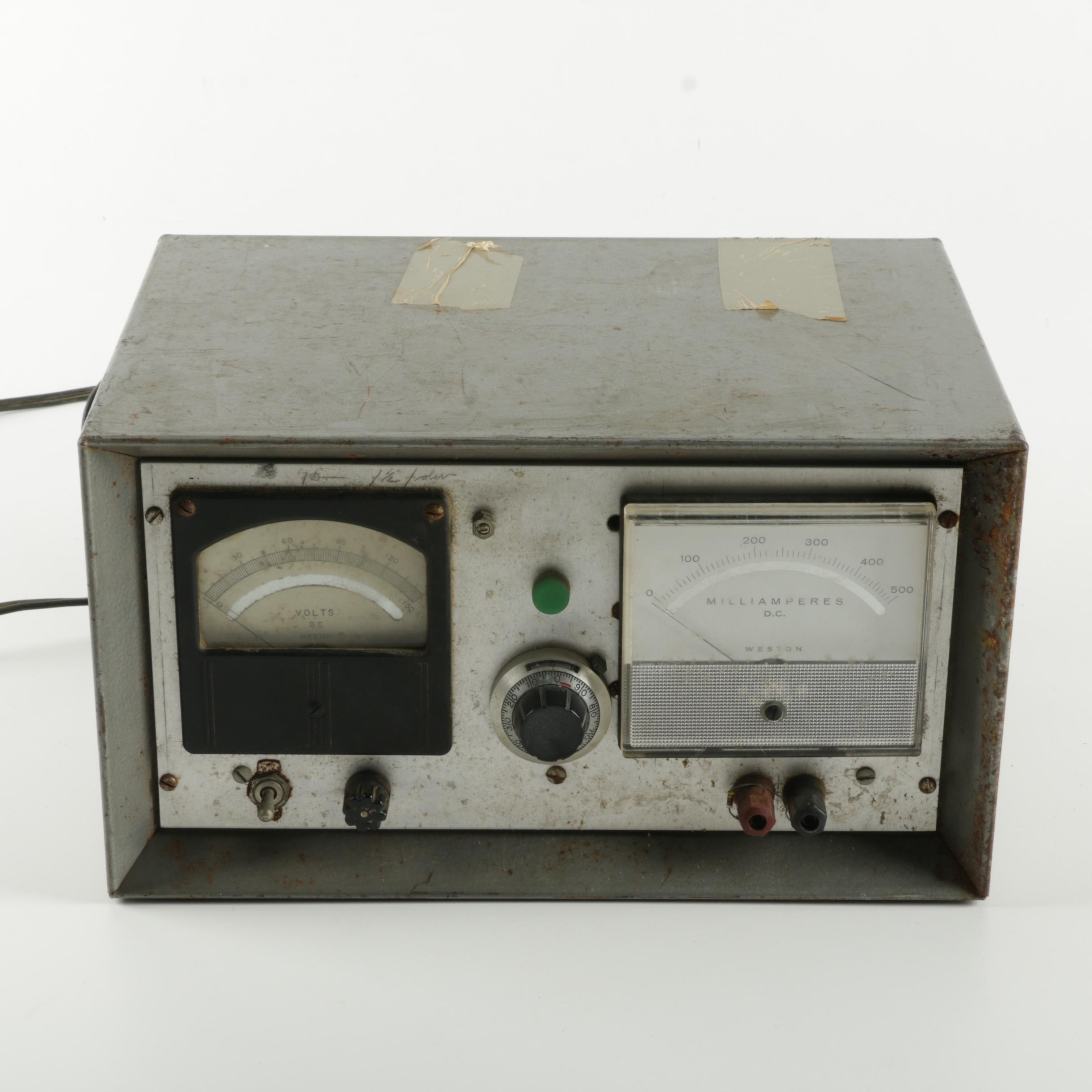 Vintage Weston Battery Charger