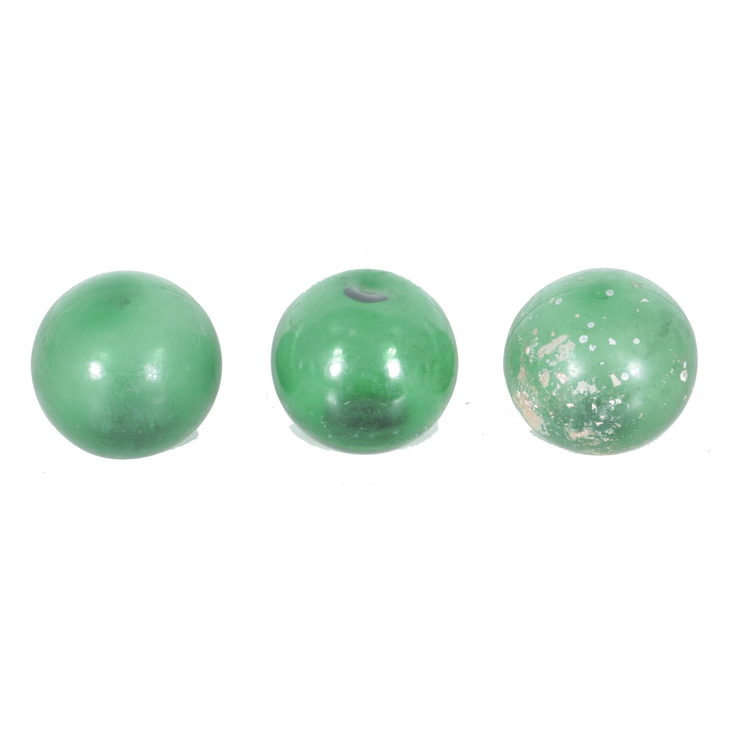 Green Glass Buoys