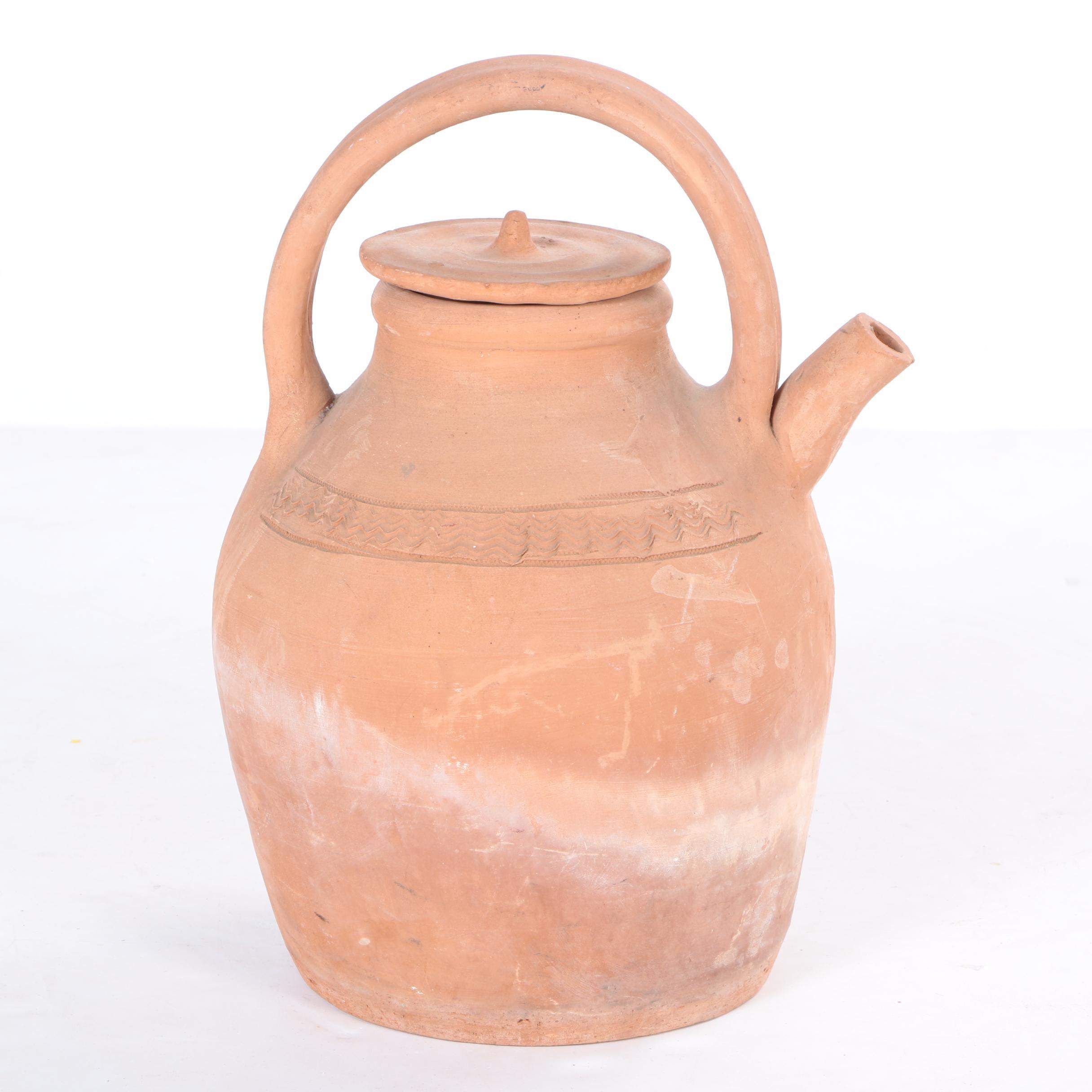 Clay Watering Pot