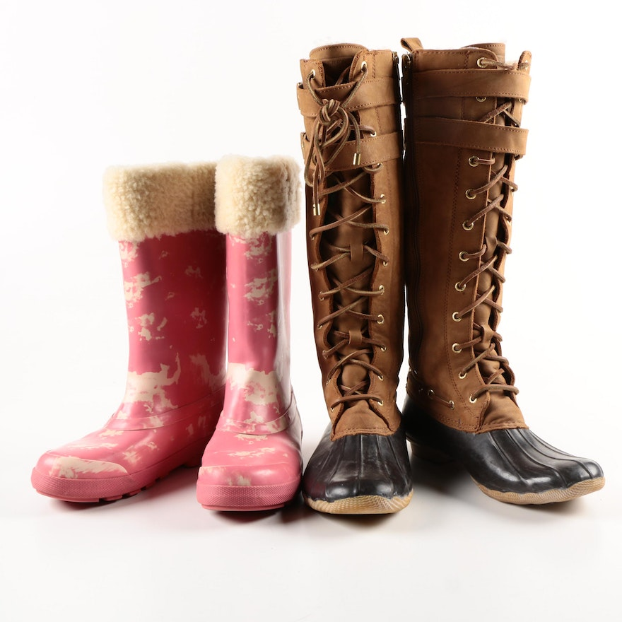 92562ae880e Women's Ugg Mill Creek Boots and Sperry Top-Sider Albatross Boots