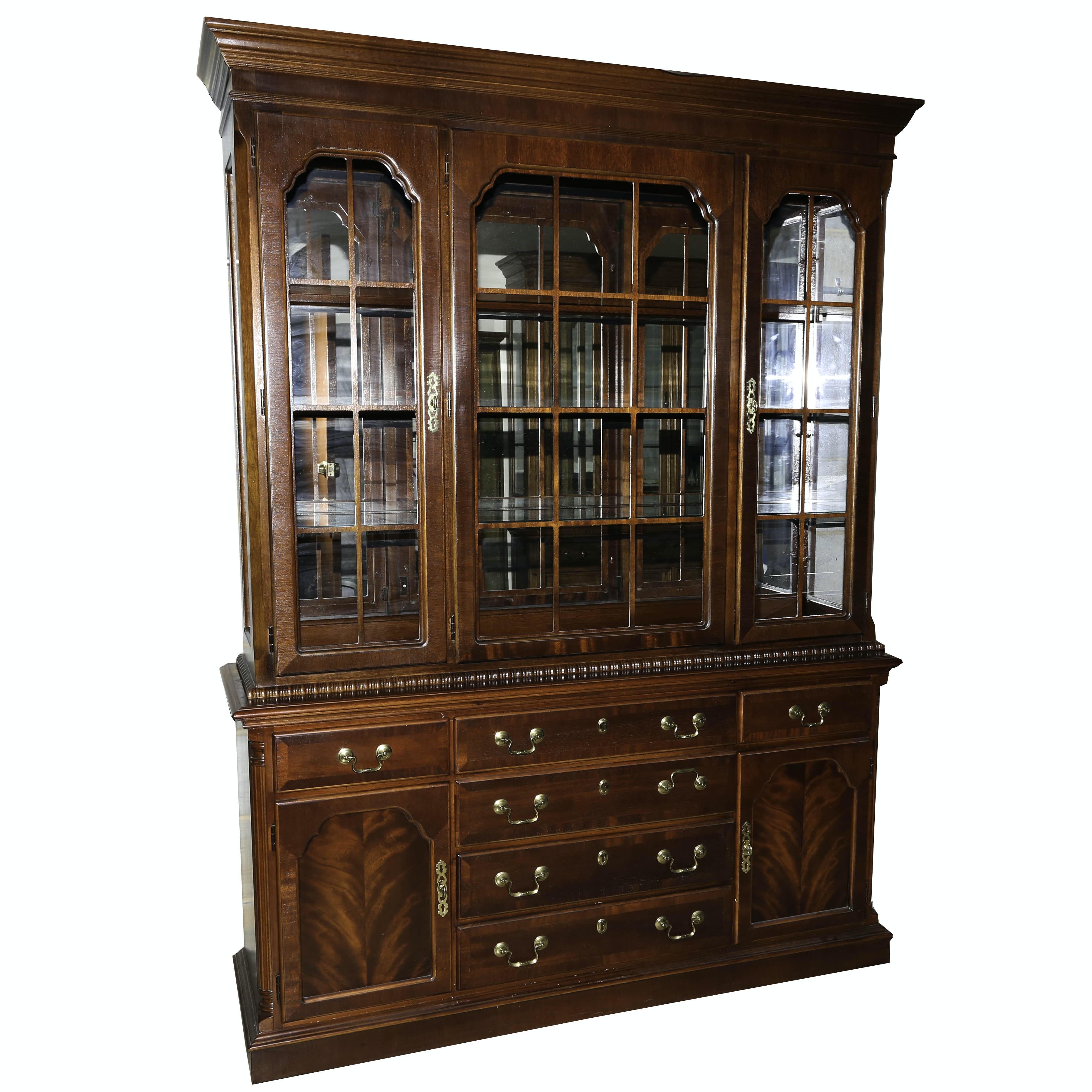 Lexington Furniture Cherry China Cabinet