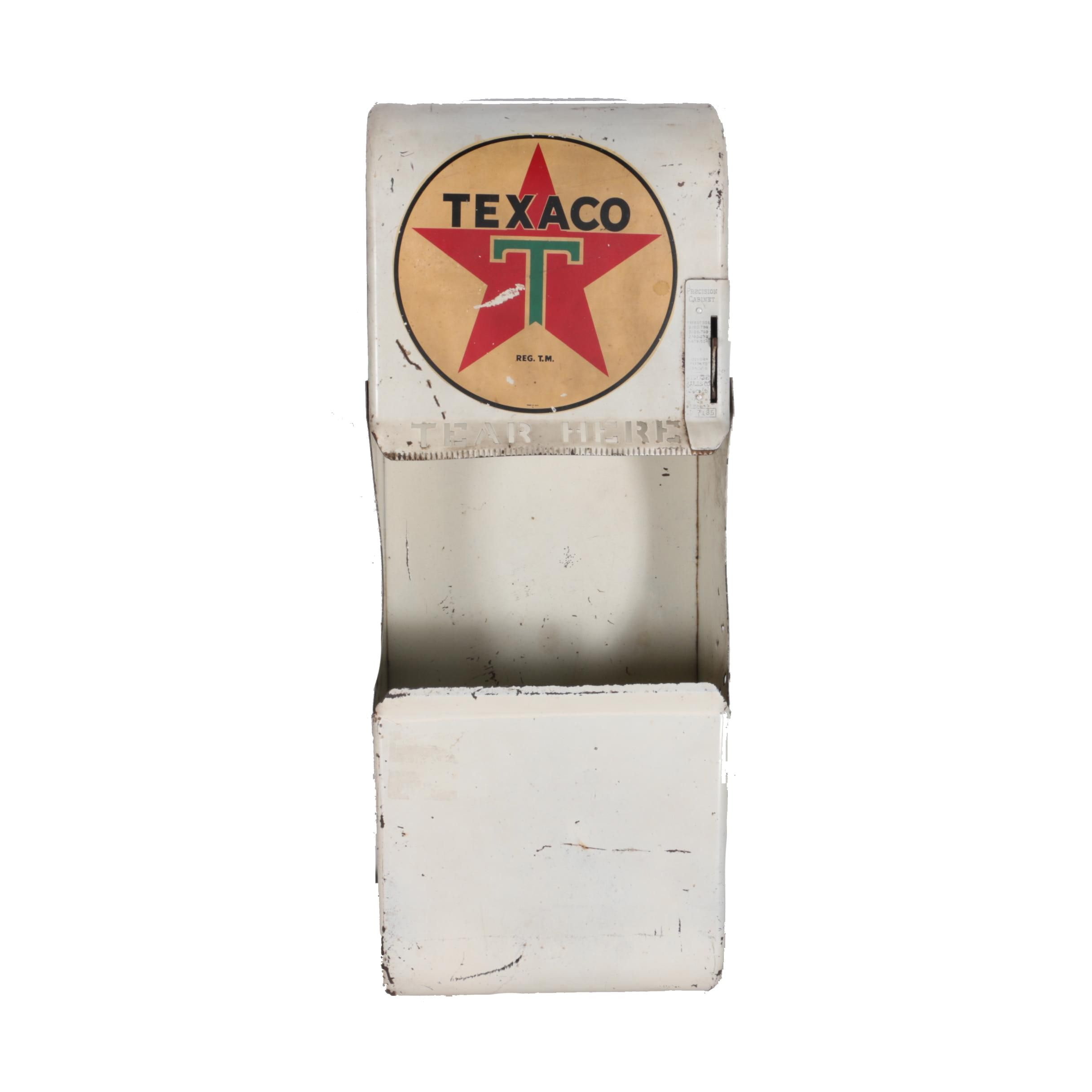 Vintage Texaco Metal Paper Towel Dispenser