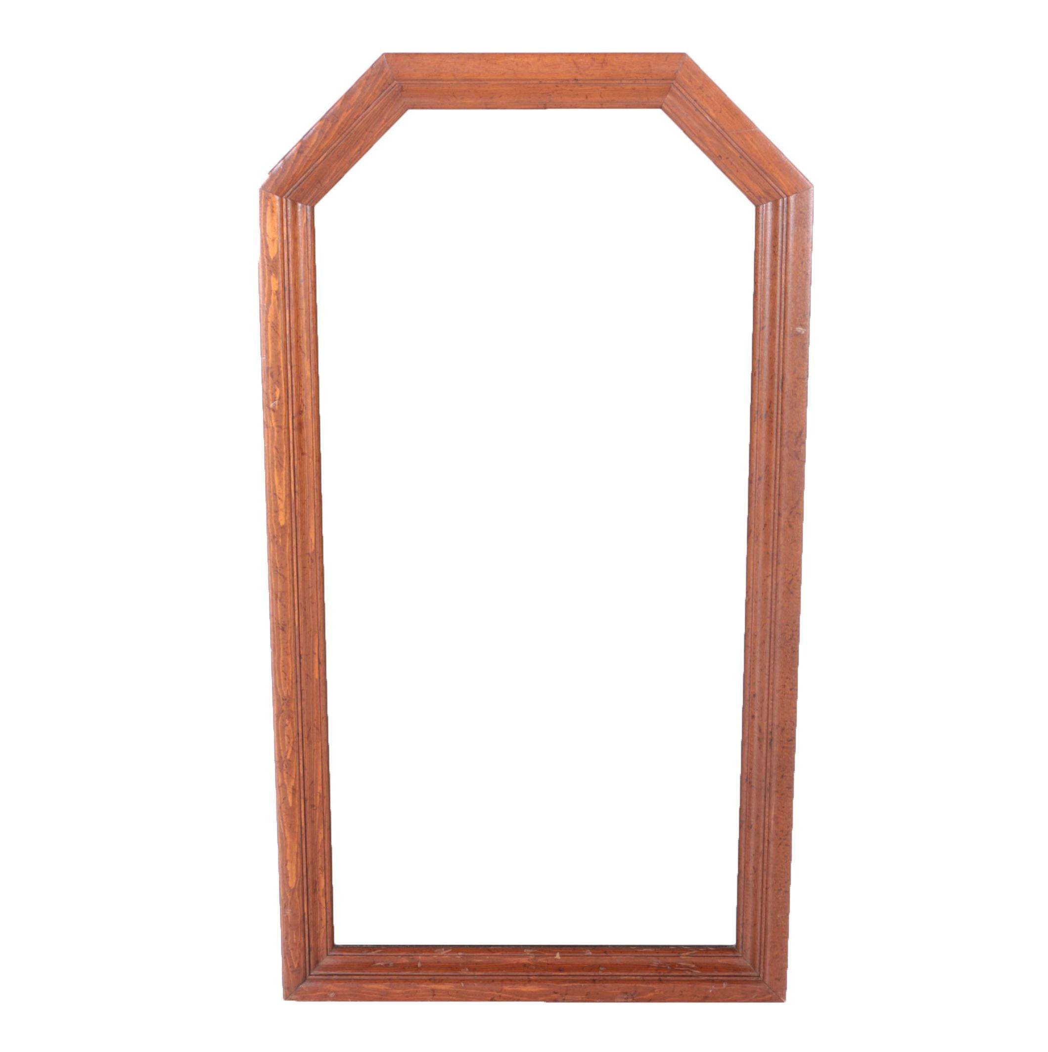 Ethan Allen Wood Framed Mirror