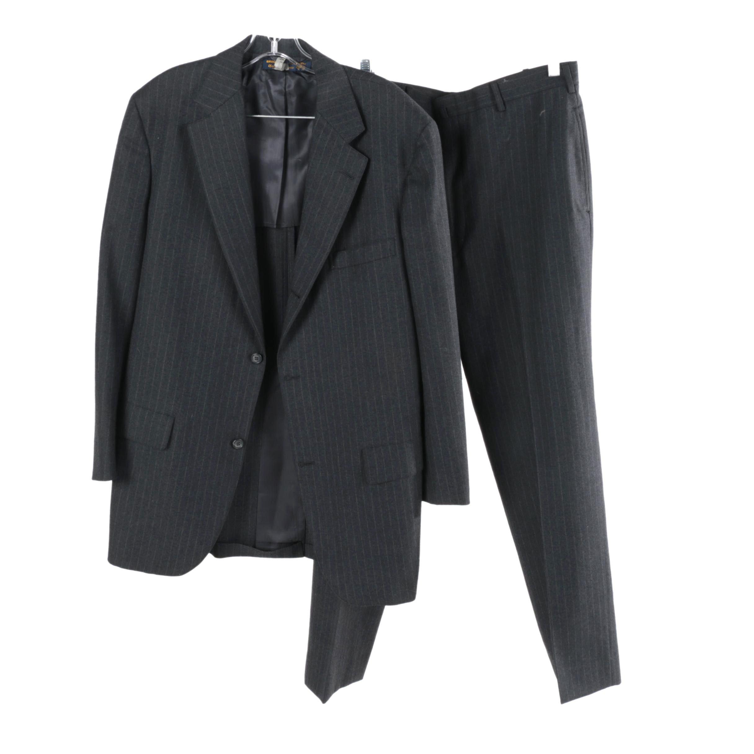 Men's Brooks Brothers Pinstripe Suit