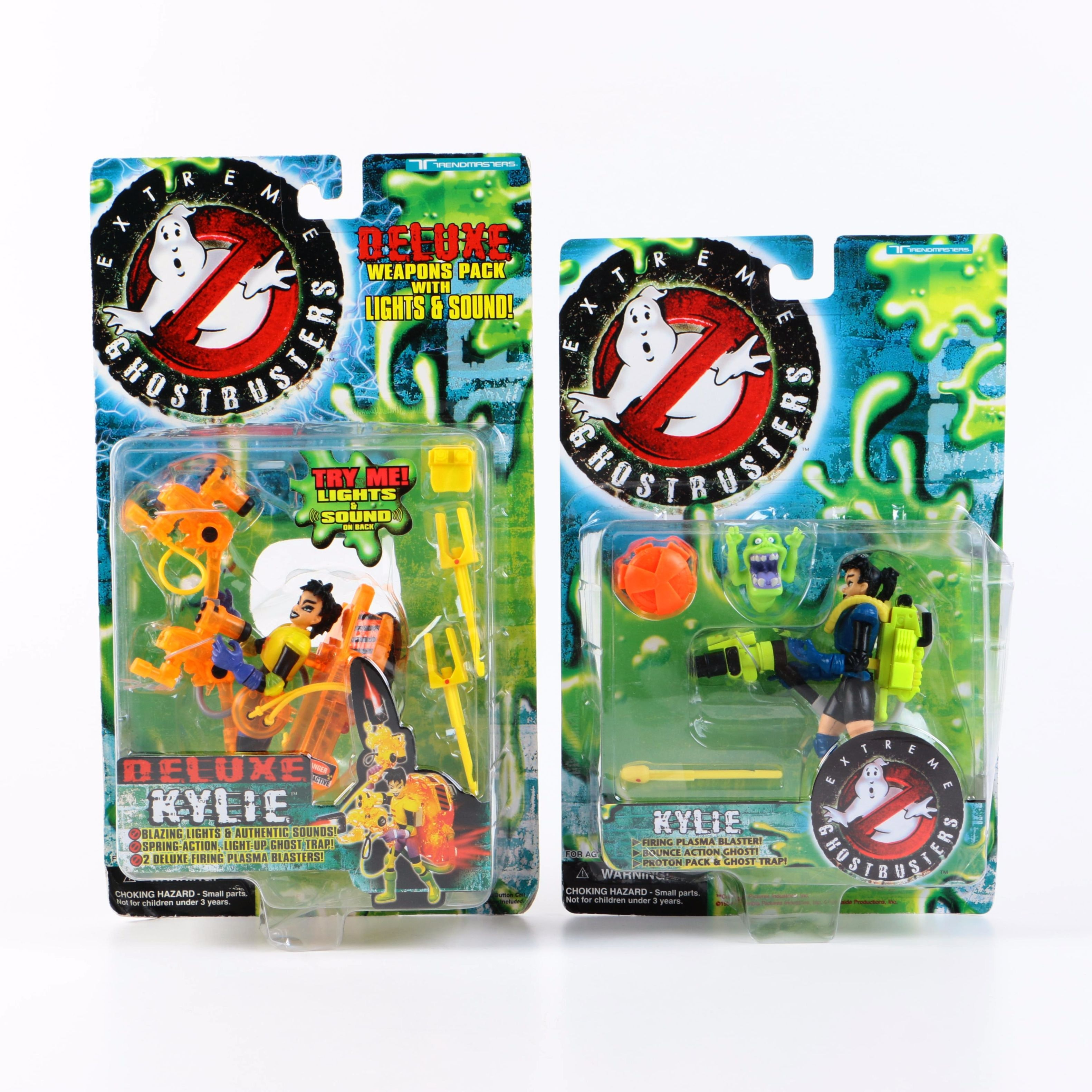 "Set of ""Extreme Ghostbusters"" Action Figure"