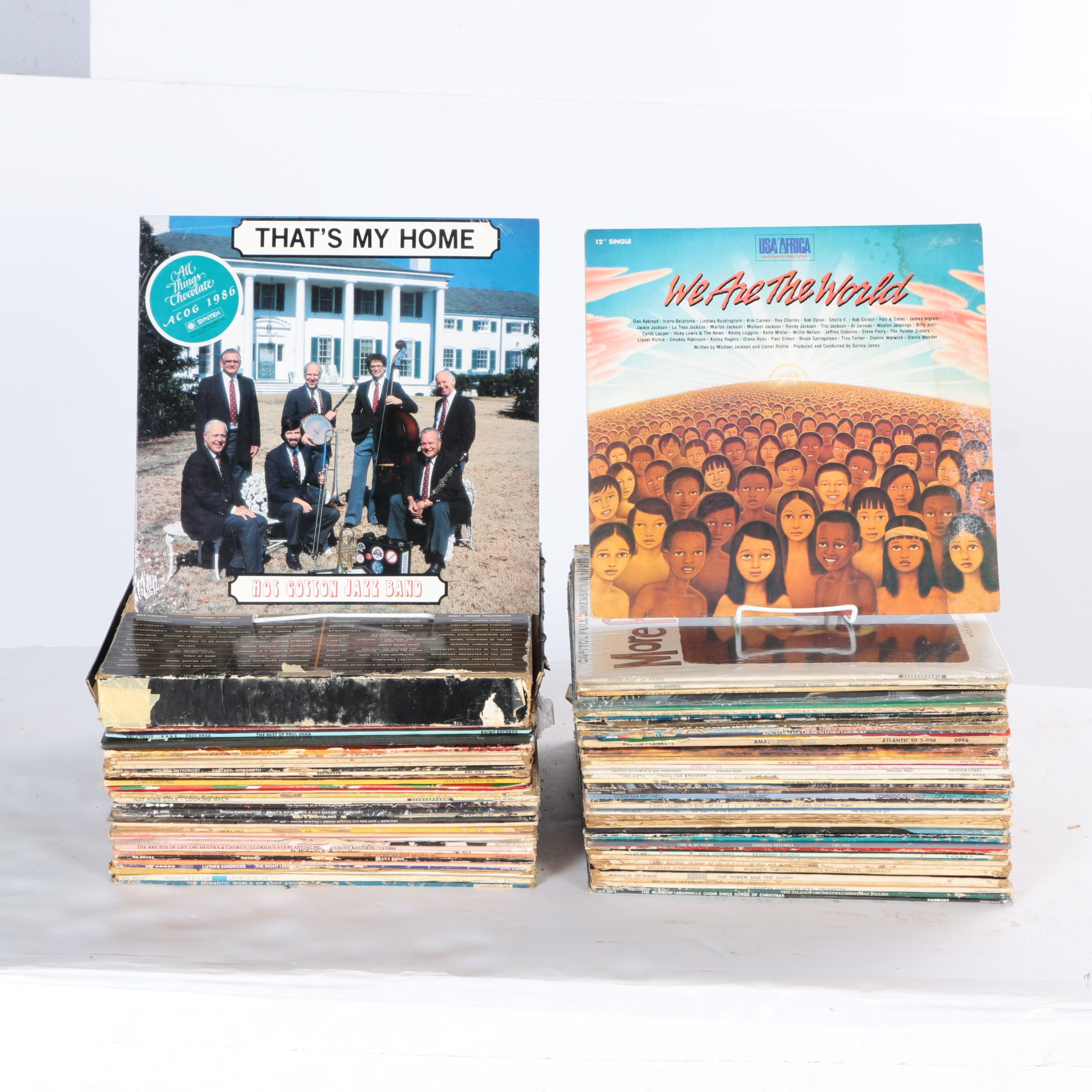 Over 60 Collectible R&B, Orchestral and Pop LPs