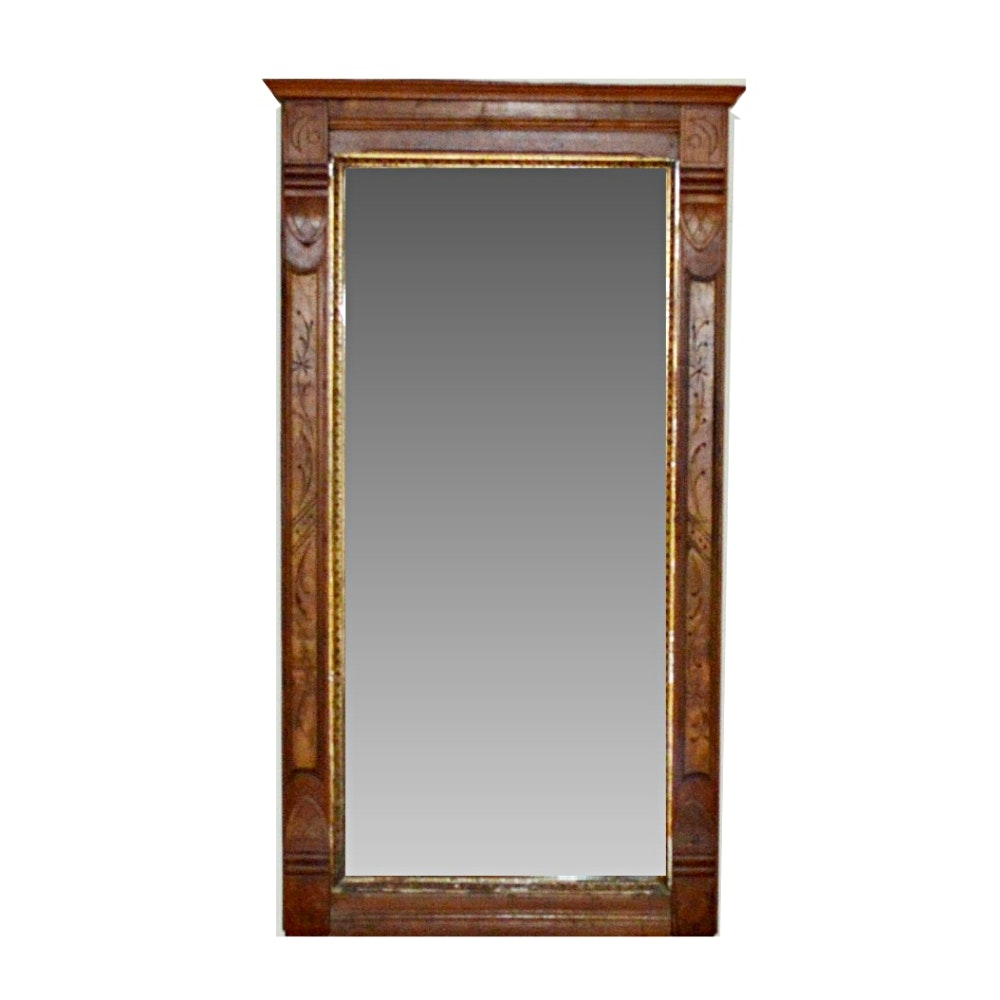 Late 19th Century Victorian Eastlake Wall Mirror