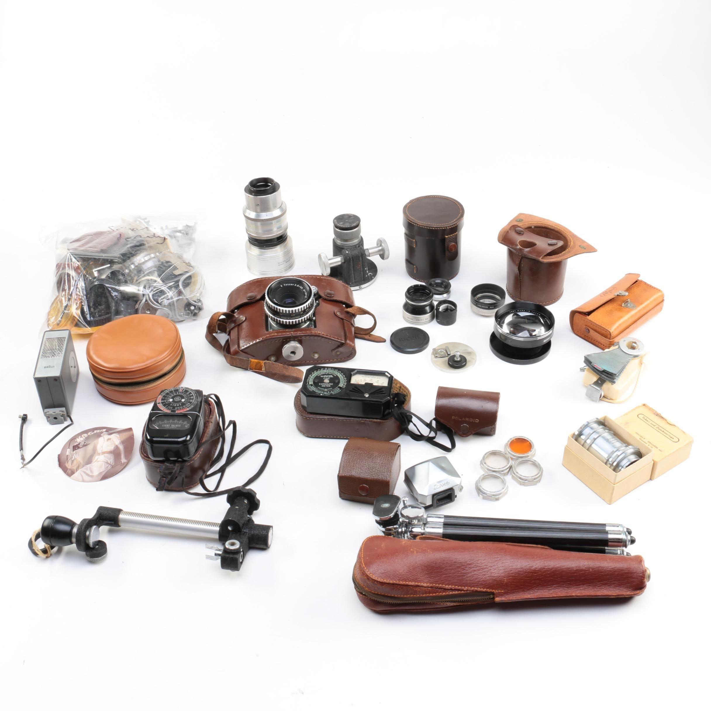 Exakta VX Camera and Accessories