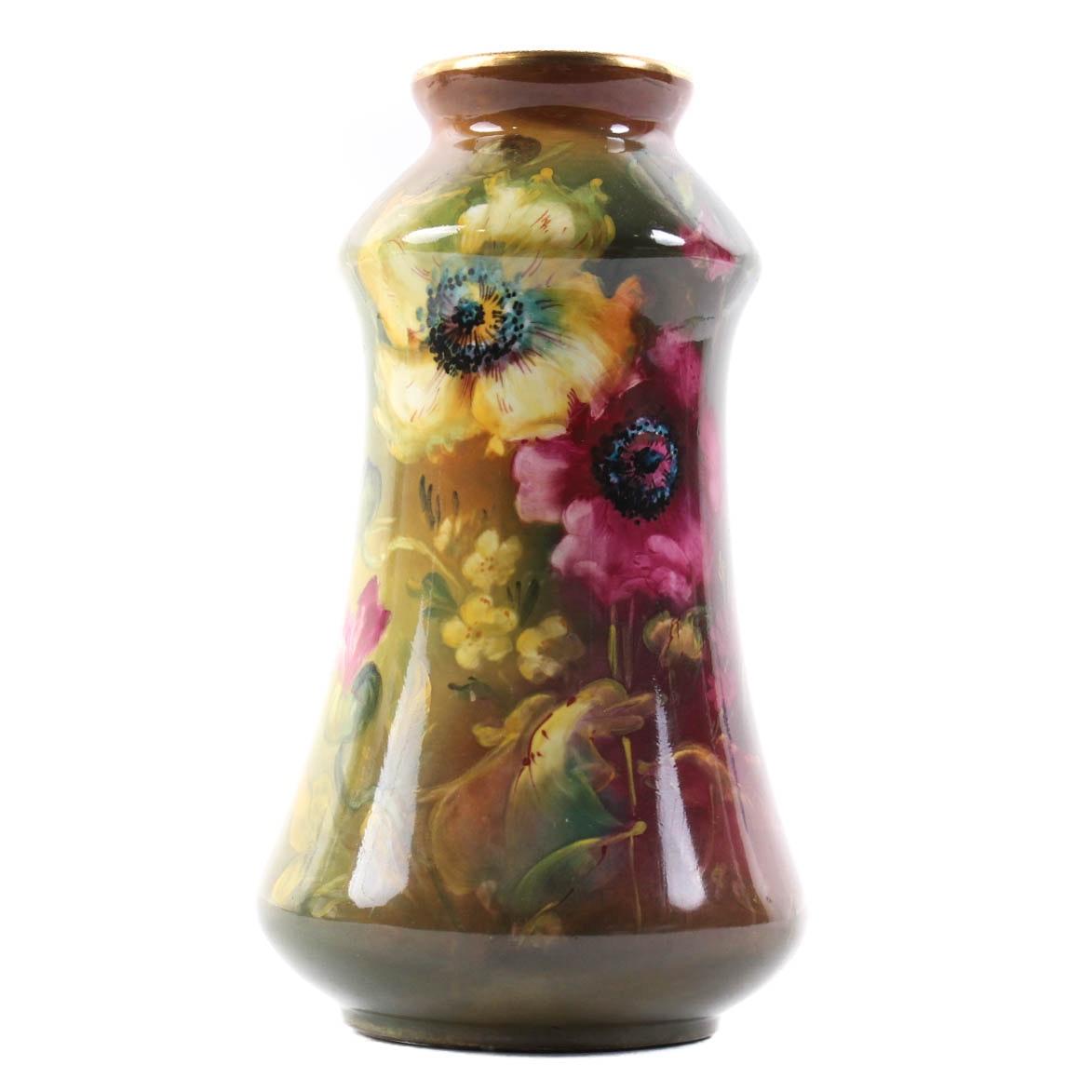 Antique Hand-Painted Royal Bonn Vase