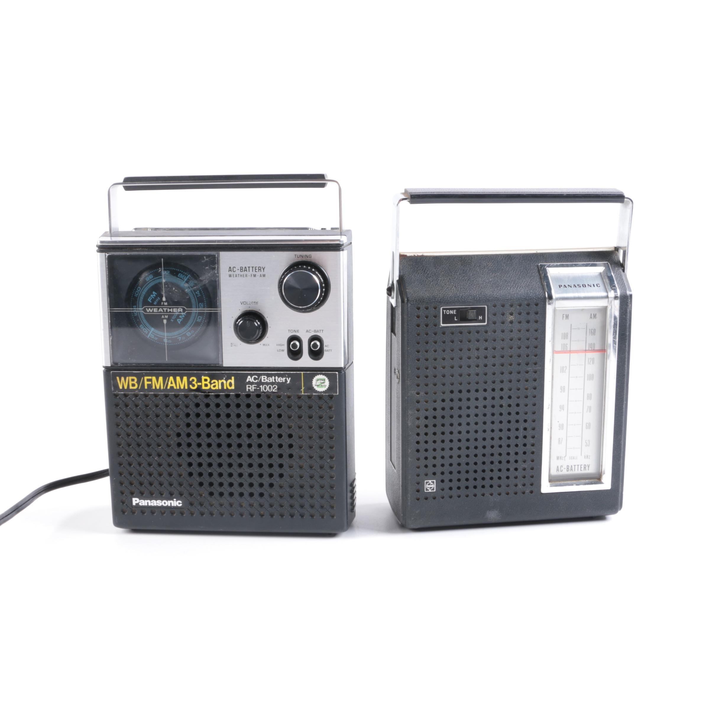 Vintage Handheld Radios