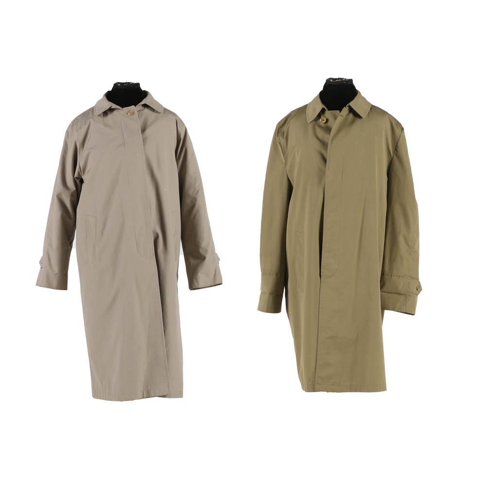 Gleneagles and Drydock Trench Coats
