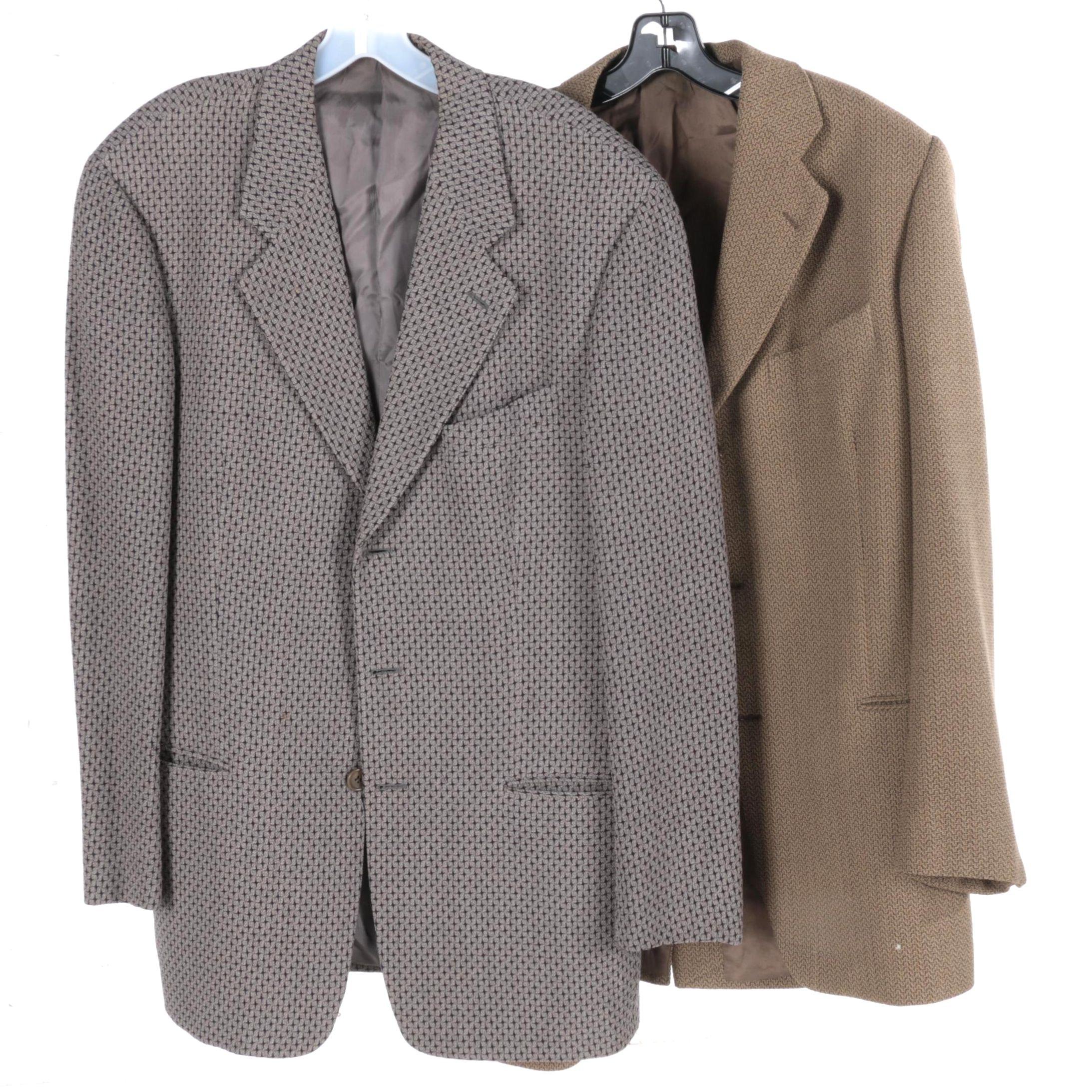 Calvin Klein and Mani Wool Blend Blazers