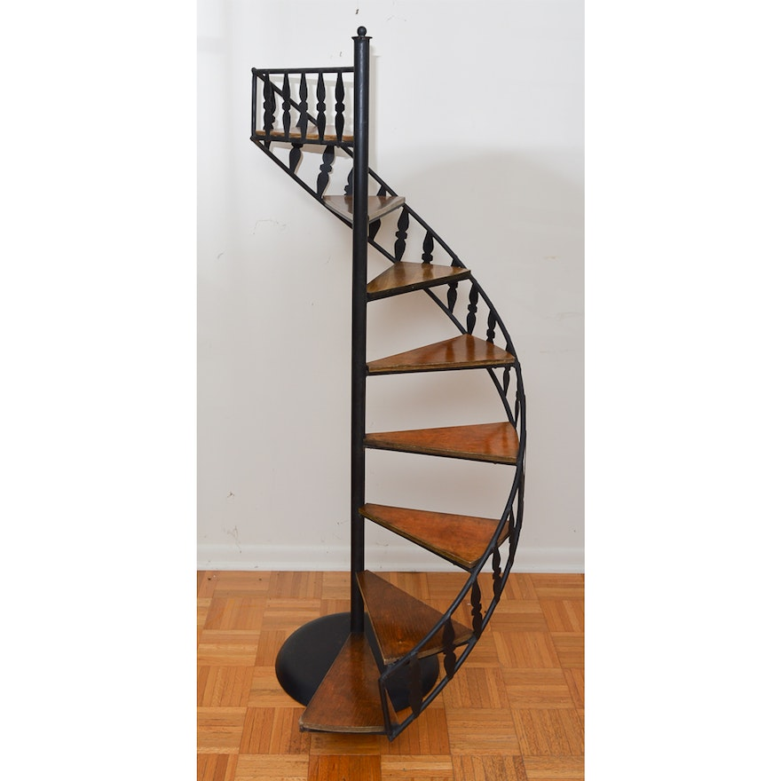 Spiral Staircase Display Stand Spiral Staircase Display Stand EBTH 9