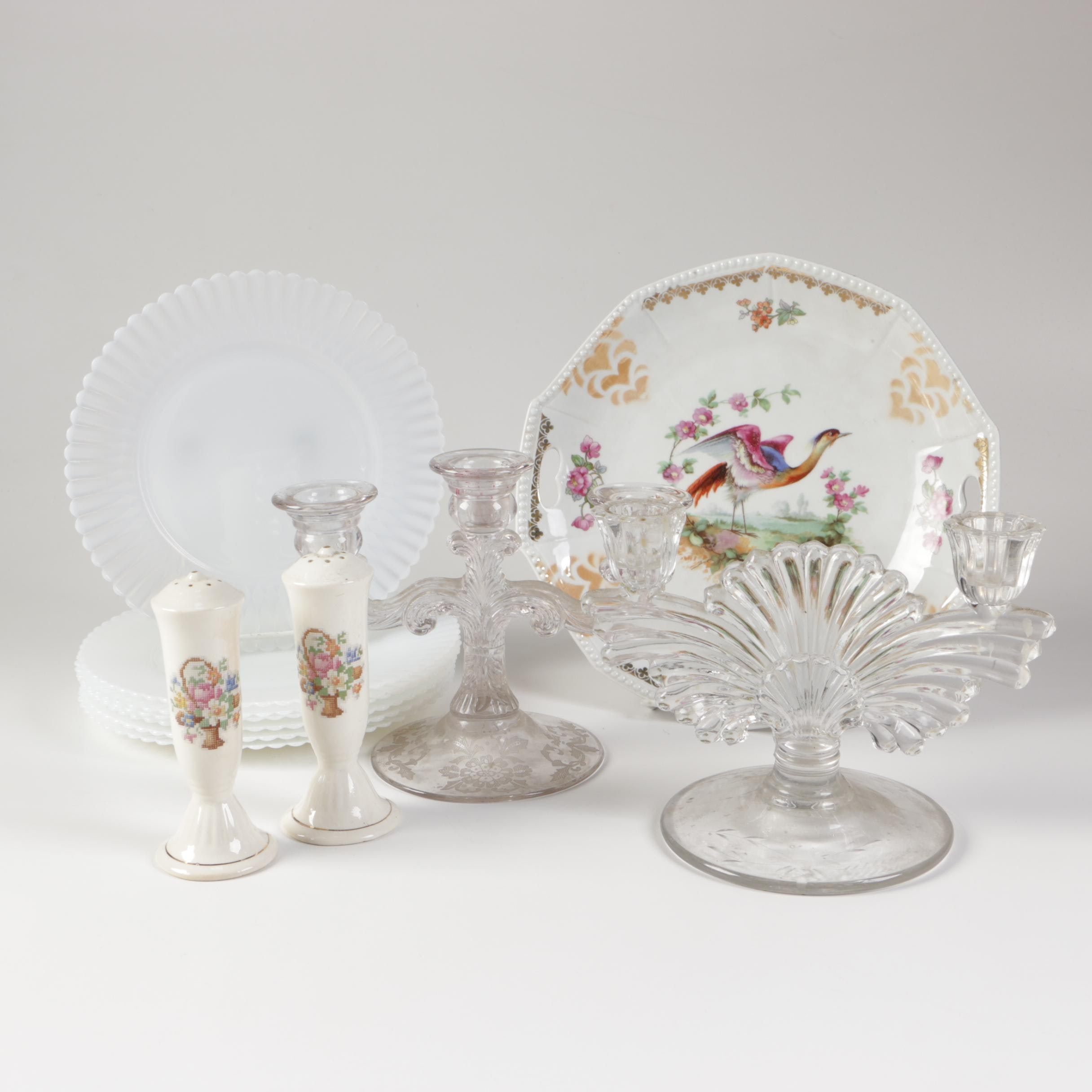 Ceramic and Glass Tableware and Decor