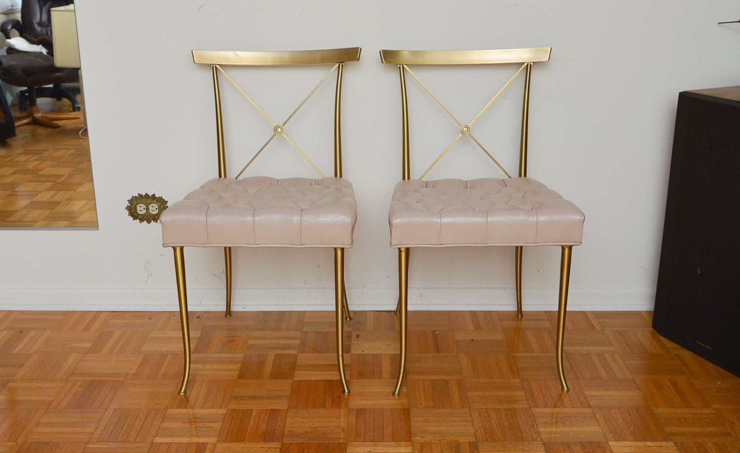 Pair of Neoclassical Style Chairs