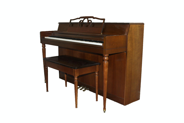 Vintage Wurlitzer Spinet Piano