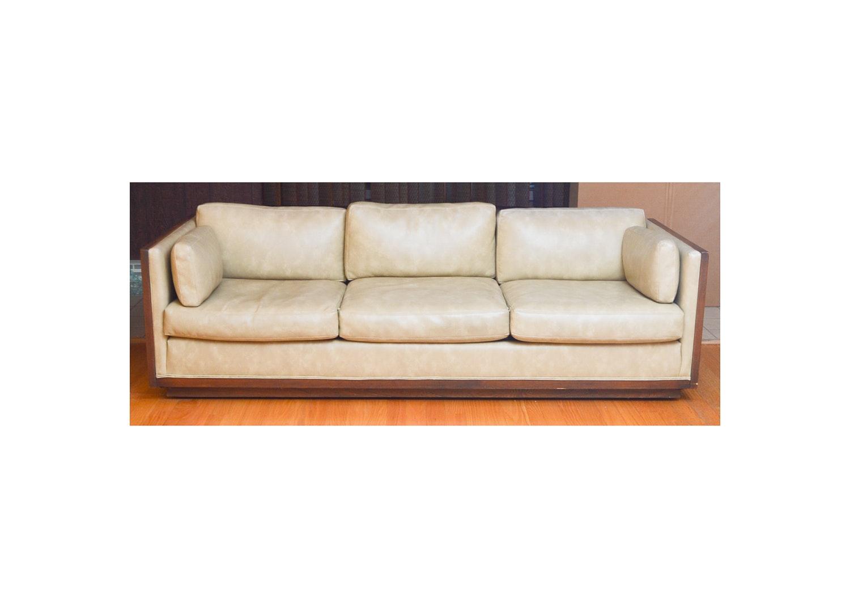 Mid Century Modern Box Frame Sofa