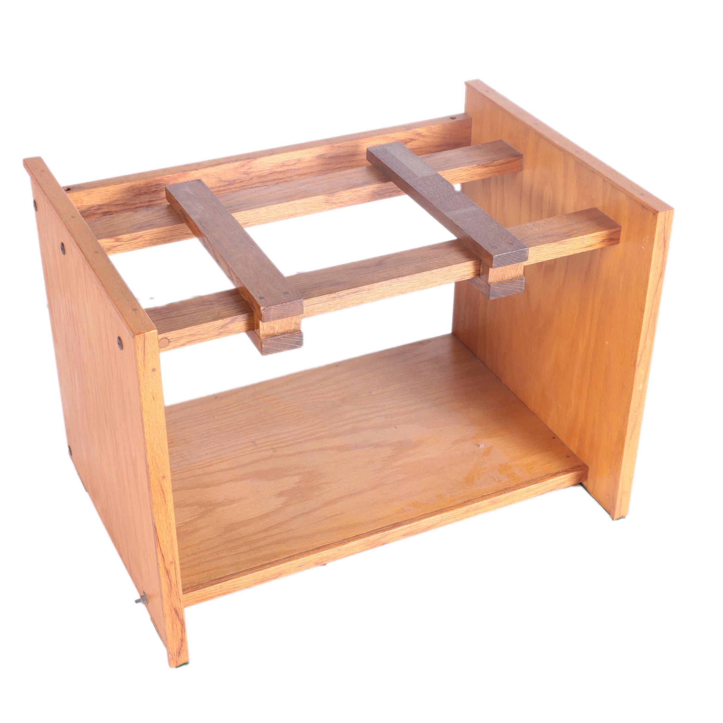 Minimalist Wooden Television Stand
