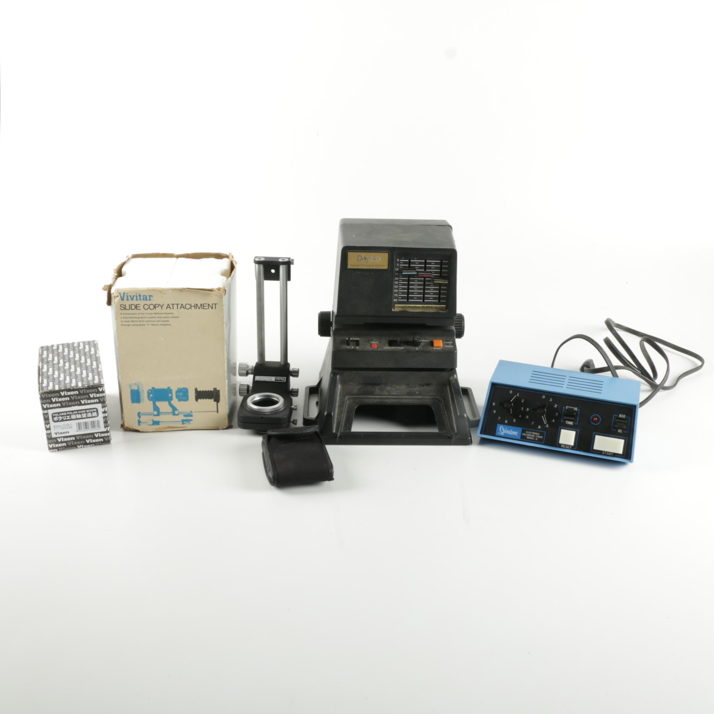 Photo Enlarging Equipment