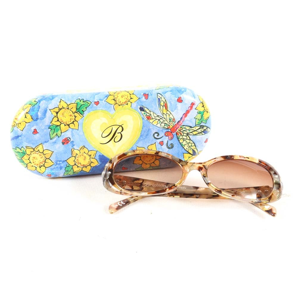 Brighton Handmade Faux Tortoise Shell Sunglasses