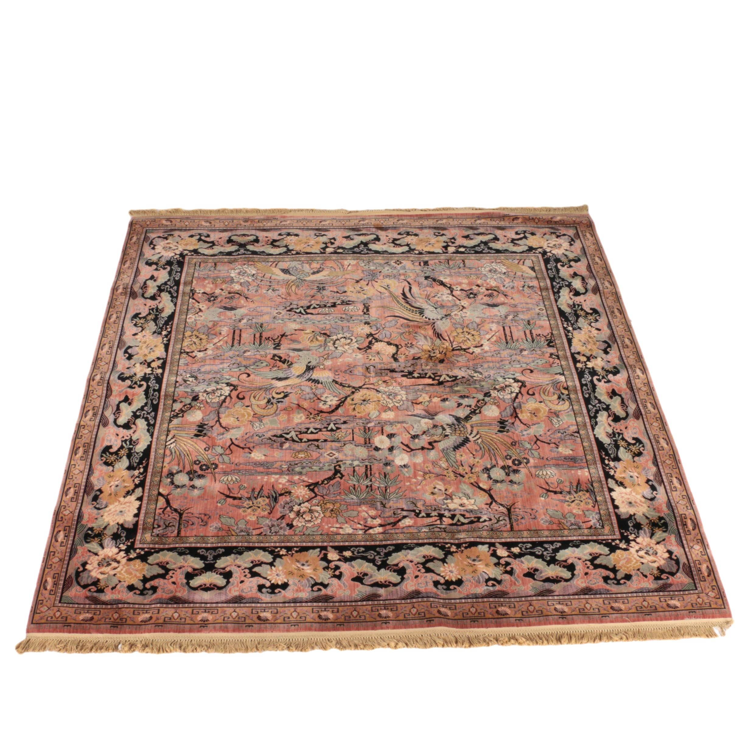 Machine Made Whitall Anglo Persian Wool Area Rug