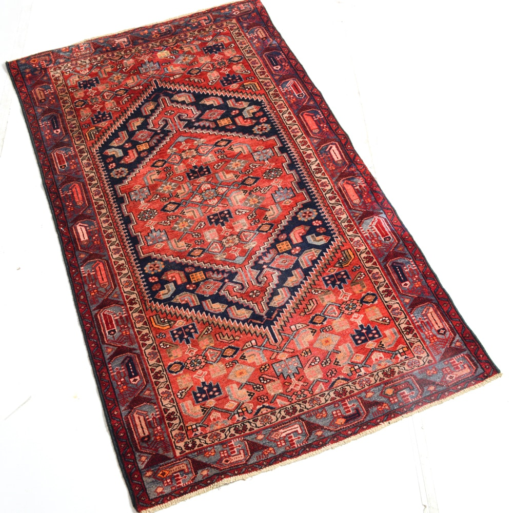 Hand-Knotted Northwest Persia Area Rug