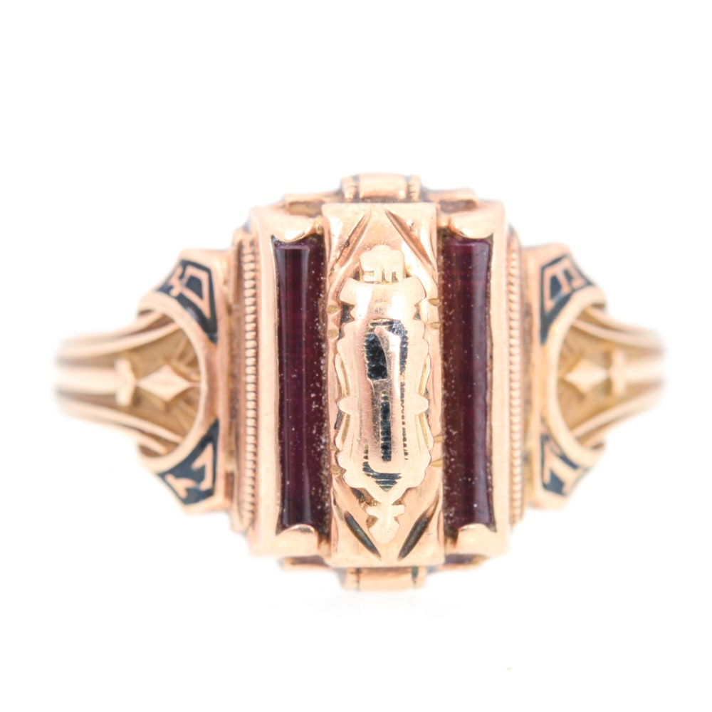 10K Yellow Gold Class Ring