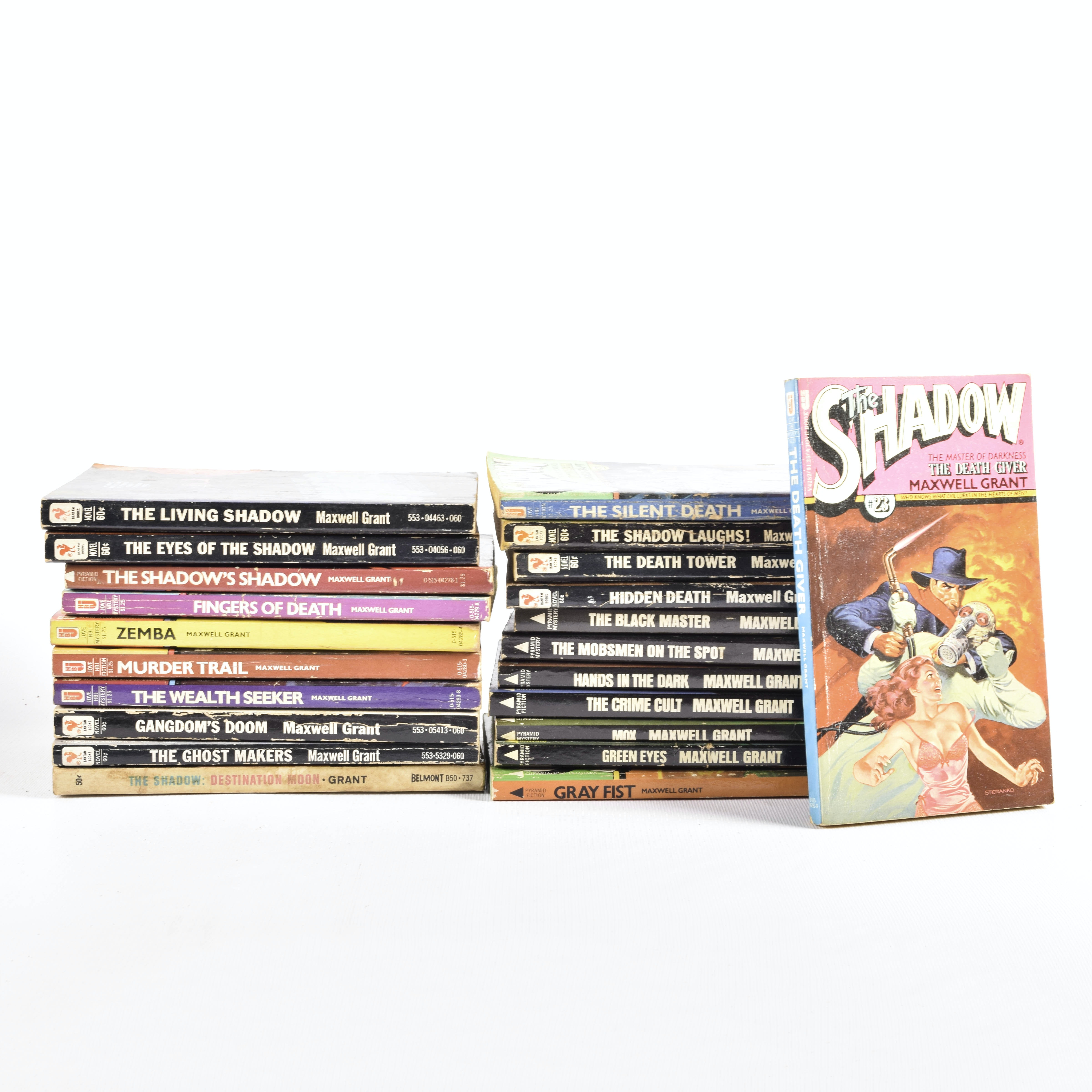 Collection of Maxwell Grant Paperback Books