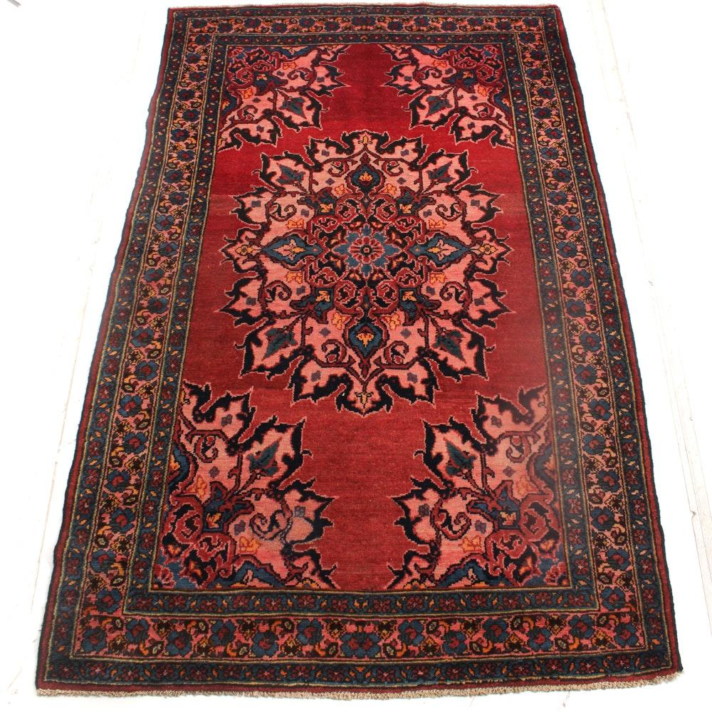Hand-Knotted Persian Viss Heriz Rug
