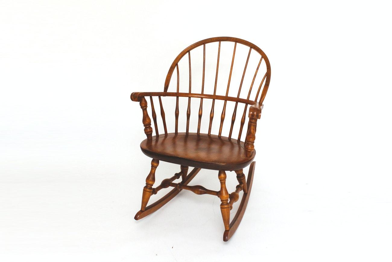 Nichols and Stone Windsor Rocking Chair