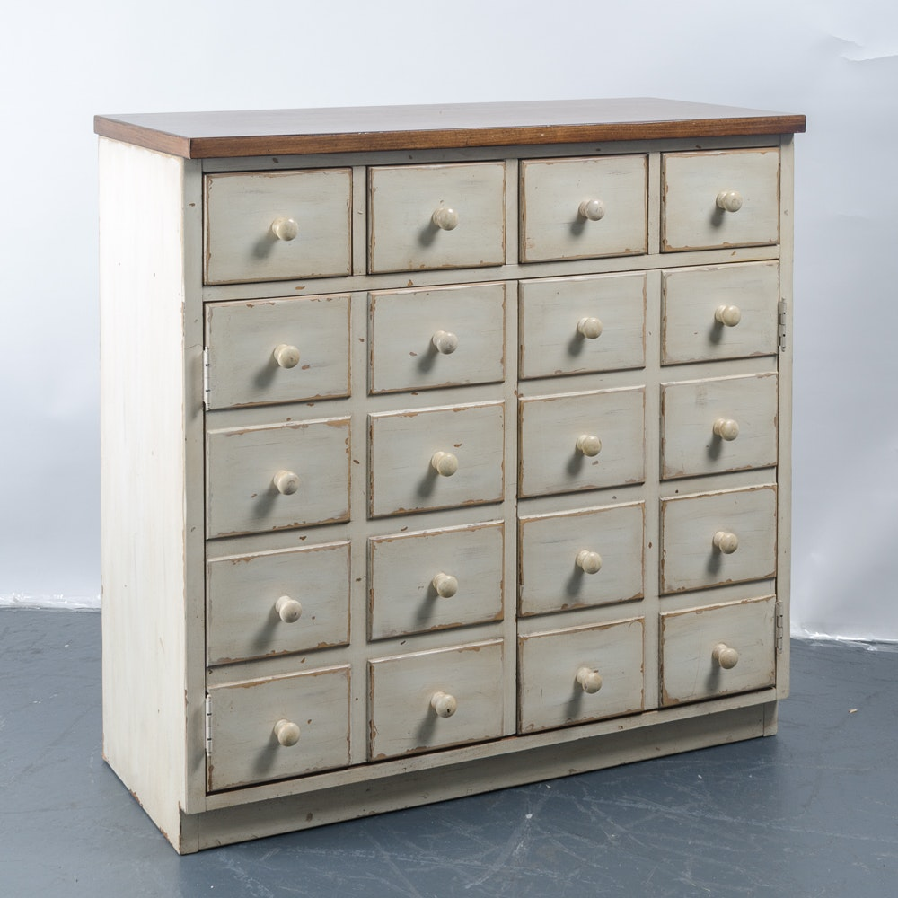Petite Apothecary Style Chest