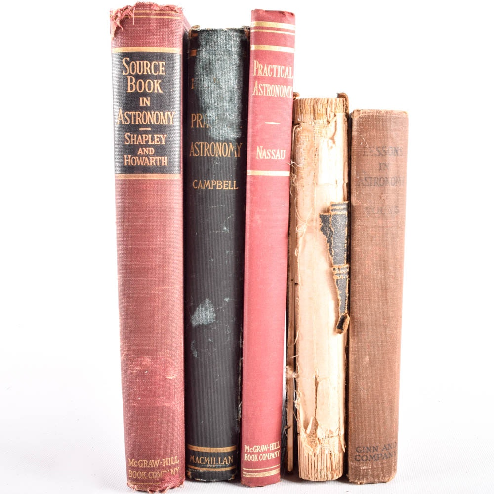 Vintage Astronomy Book Collection