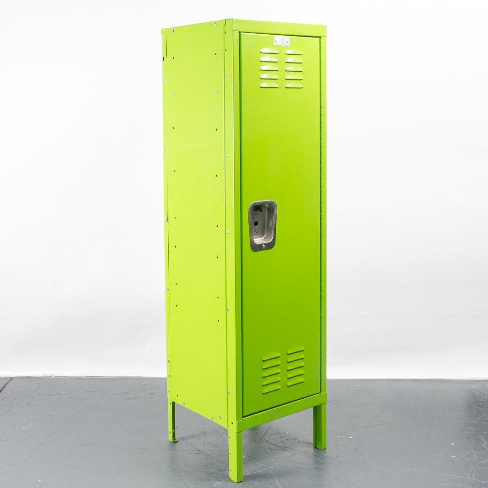 Industrial Painted Metal Locker by Shelving Inc.