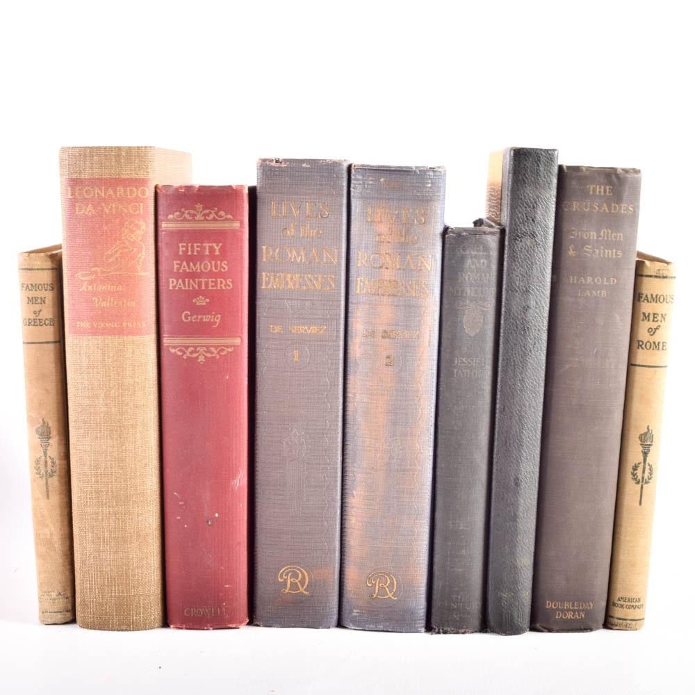 Antique and Vintage Non-Fiction Books