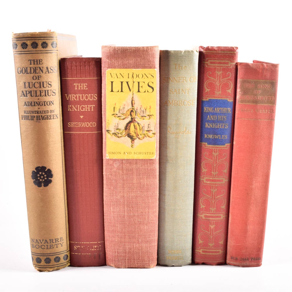 Antique and Vintage Hardcover Novel Collection