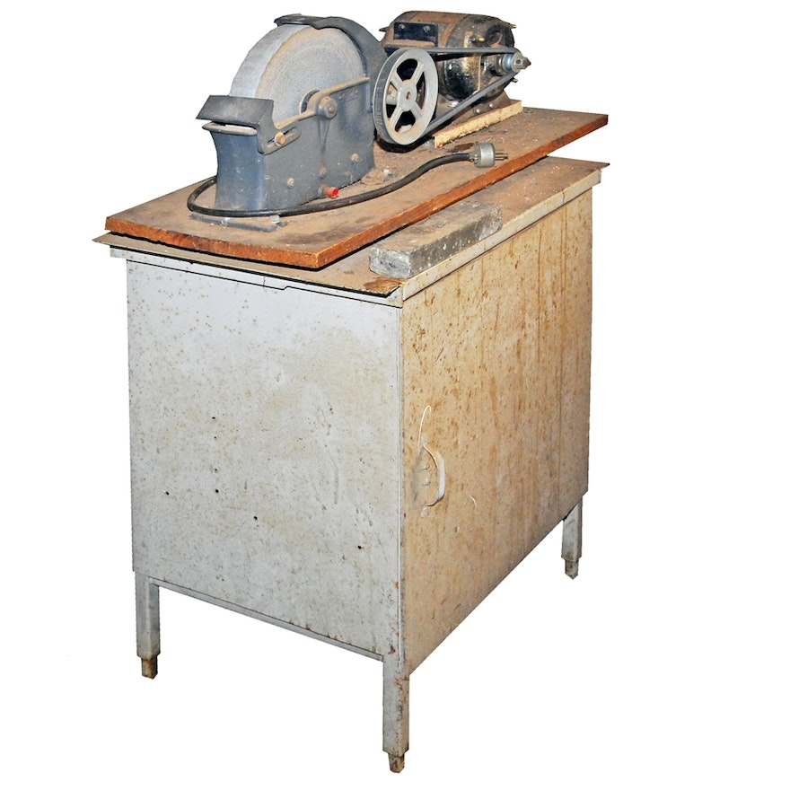 Phenomenal Vintage Dunlap Bench Grinder Gmtry Best Dining Table And Chair Ideas Images Gmtryco