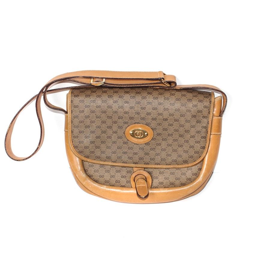 ffc18da89c9 Vintage Gucci Monogram Shoulder Bag   EBTH