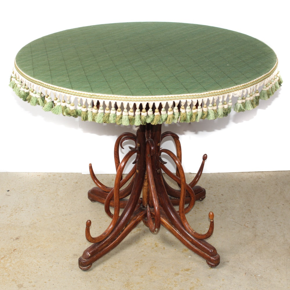 Vintage Bentwood Occasional Table